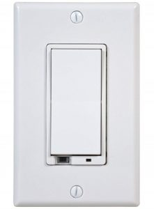 GoControl Z-Wave Wall Mount Dimmer Switch